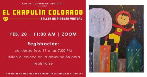 Chapulin Colorado: taller de pintura virtual
