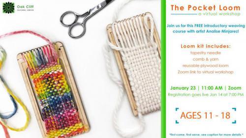 The Pocket Loom: virtual workshop